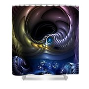 Reincarnation - The Quandary Shower Curtain