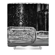Reisenwebers A 1920s Nyc Speakeasy In Black And White Shower Curtain