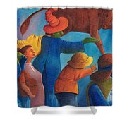 Rejection. Shower Curtain