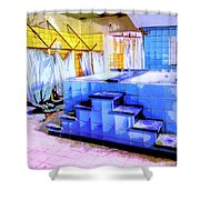 Rejuvenator Shower Curtain