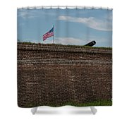 Relase The Shot Shower Curtain