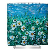 Relax 1 Shower Curtain