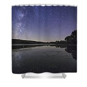Relax And Look At The Stars Shower Curtain
