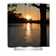 Relax By The Lake Shower Curtain