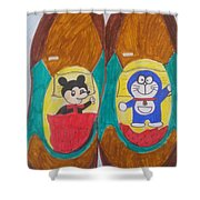 Relax Time Shower Curtain