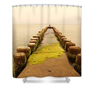 Relaxation 1 Shower Curtain
