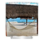 Relaxation Defined Shower Curtain