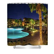Relaxation Vacation Shower Curtain