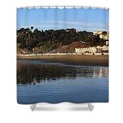 Relaxing At Ocean Beach San Francisco Shower Curtain