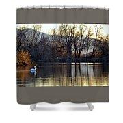 Relaxing Evening Shower Curtain