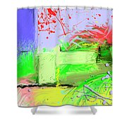Relaxing Intermission Shower Curtain