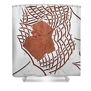 Release - Tile Shower Curtain