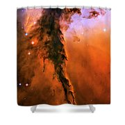 Release - Eagle Nebula 1 Shower Curtain by Jennifer Rondinelli Reilly - Fine Art Photography