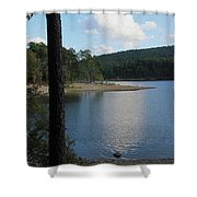 Relecting Afternoon Shower Curtain