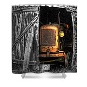 Relic From Past Times Shower Curtain by Heiko Koehrer-Wagner
