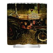 Relic In The Field Shower Curtain