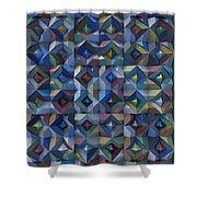 Relief M3 Corrugated Metal Shower Curtain