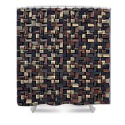 Relief N1 Chocolate Shower Curtain