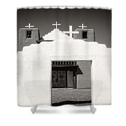 Religious Fronts Shower Curtain