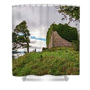 Remains Of Castle Lachlan Shower Curtain