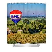 Remax Hot Air Balloon Ride Shower Curtain