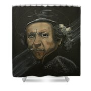 Rembrandt And Colour Shower Curtain