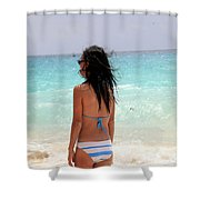 Remember Me Mones Shower Curtain