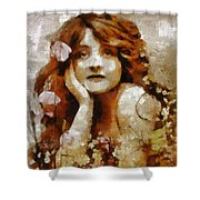 Remember Summer By Mary Bassett Shower Curtain