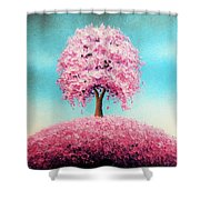 Remember The Bloom Shower Curtain