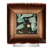 Remembrance Iv With Frame Shower Curtain