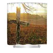 Remembered Shower Curtain