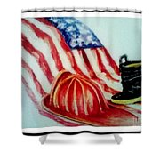 Remembering 9/11 Shower Curtain