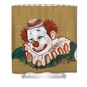 Remembering Felix Adler The Clown Shower Curtain