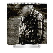 Remembering Hard Times Shower Curtain