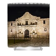 Remembering The Alamo Shower Curtain
