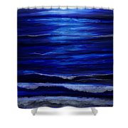 Remembering The Waves Shower Curtain