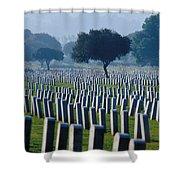 Remembering Walt Bem Shower Curtain