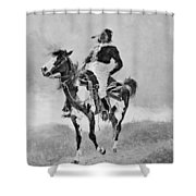Remington: Comanche, C1890 Shower Curtain