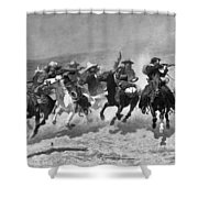 Remington: Dash For Timber Shower Curtain