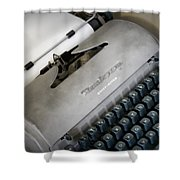 Remington Quiet Riter Shower Curtain