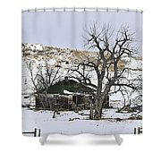 Remnants Of Memories Shower Curtain