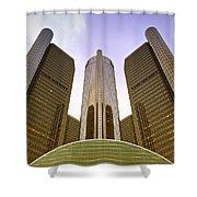 Renaissance Center Shower Curtain