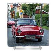 Renault Caravelle Shower Curtain