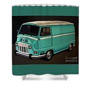 Renault Estafette 1959 Painting Shower Curtain