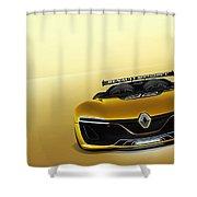 Renault Sport Spider 4k Shower Curtain