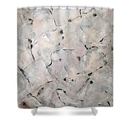Rencontres Shower Curtain