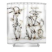 Rendezvous 4015 Shower Curtain