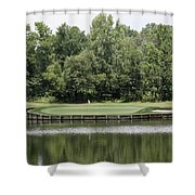 Renditions Golf - 13th Shower Curtain