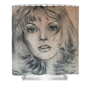 Renee Russo Shower Curtain
