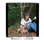 Renee Trenholm . Signed Shower Curtain by Renee Trenholm